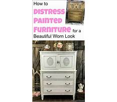 How to make furniture look vintage with paint Plan