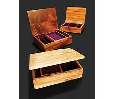 How to make jewelry box from wood Plan