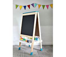 How to make paper easel Plan