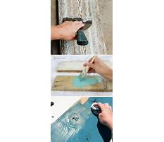 How to make wood furniture look distressed Plan