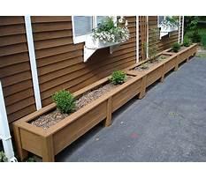 How to make wood planter waterproof Plan
