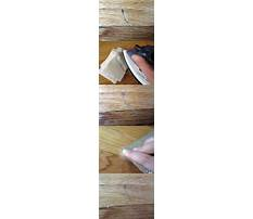How to remove dents scratches in furniture Plan