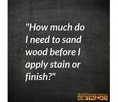 How to stain and paint wood.aspx Plan