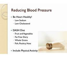 Hypotension diet pdf Plan