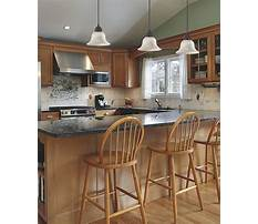 Ideas for decorating a kitchen island Plan