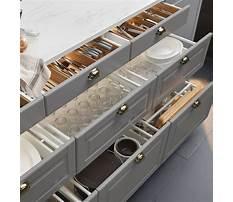 Ideas for organizing kitchen drawers Plan