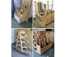 Ideas for storing scrap wood Plan