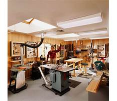 Ideas for woodworking shop Plan