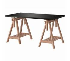 Ikea trestle tables Plan