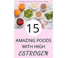 Increase estrogen diet Plan