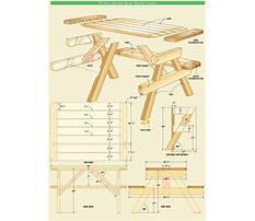 Indoor kids picnic table Plan