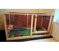 Indoor rabbit enclosure designs Plan