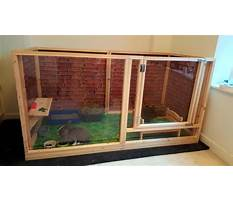 Indoor rabbit enclosures plans Plan