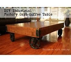 Industrial cart coffee table diy.aspx Plan
