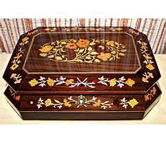 Inlaid wood jewelry box sorrento Plan
