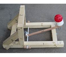 Instructions on how to build a catapult Plan