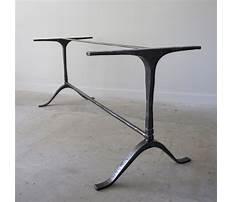 Iron end table legs Plan
