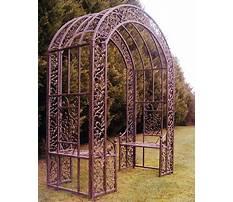 Iron garden archway Plan