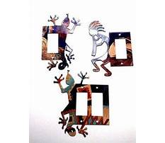 Ivy porcelain two rocker wall plate cover Plan