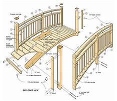Japanese wooden bridge plans Plan