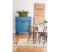 Jelly cupboard plans with milk paint Plan