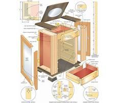 Jewelry box furniture piece Plan