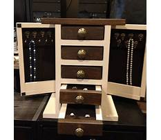 Jewelry box plans and designs Plan
