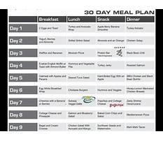 Jillian michaels one week shred diet plan Plan