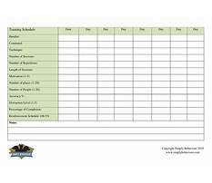 Jublea dog training Plan
