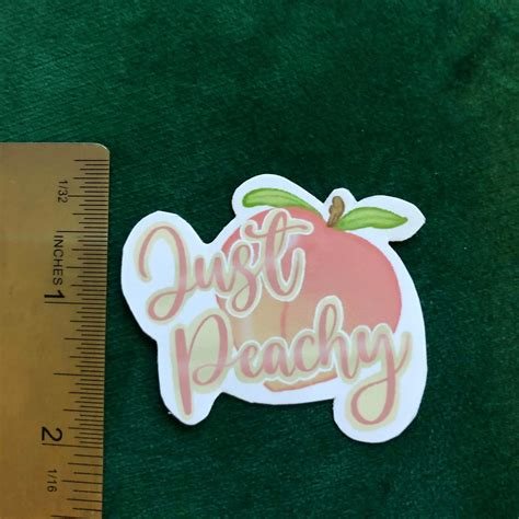 Just Peachy Emoji