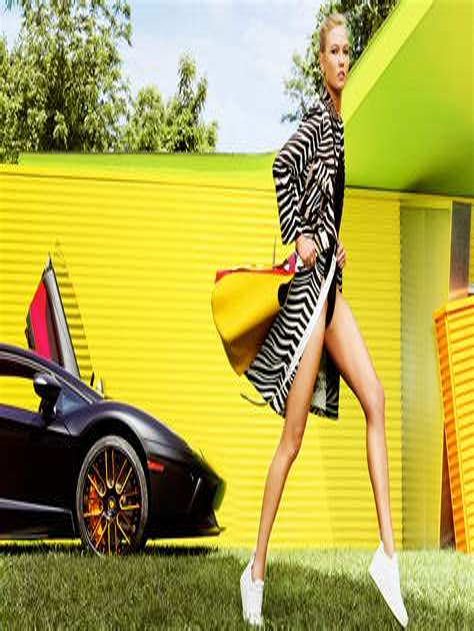Karlie Kloss Glamour Mag