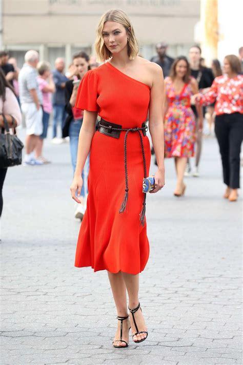 Karlie Kloss Orange