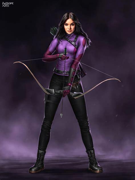 Kate Bishop Hawkeye Marvel Art