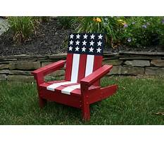 Kids adirondack chair plans ana white Plan