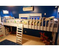 Kids loft bed plans Plan