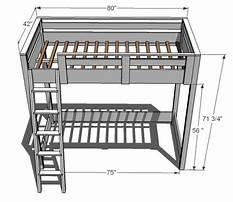 Kids low loft bed plans Plan