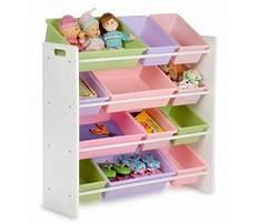 Kids storage organizer Plan