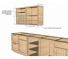 Kitchen cabinet drawer plans Plan