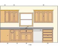 Kitchen cupboards designs Plan