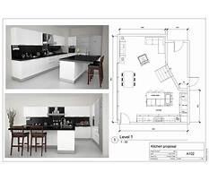 Kitchen designing photos Plan