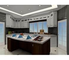 Kitchen hanging cabinet design pictures Plan