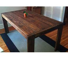 Kitchen table plans free for small room Plan
