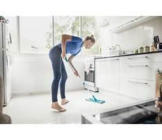 Kitchen tile flooring cleaning Plan