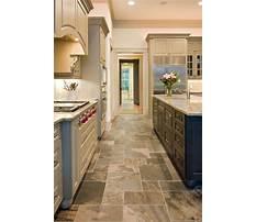 Kitchen tile flooring designs Plan