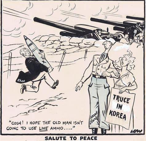 Korean War Political Cartoons