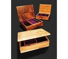 Korean wooden jewelry box Plan