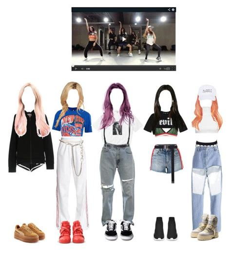 Kpop Dance Practice Outfits