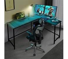 L desks for gaming Plan
