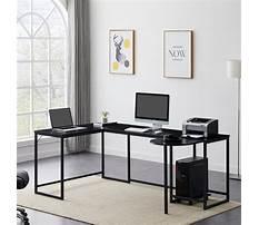 L shaped computer desks for home Plan
