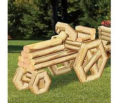 Landscape timber wood projects Plan